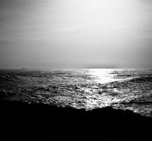 dramatisches Meer Sizilien