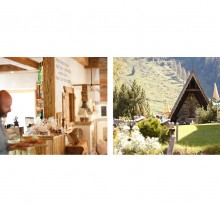 Almwirtschaft Restaurant in Alpen