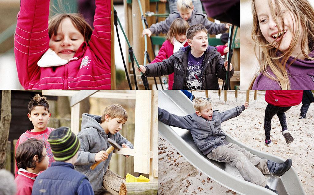 Kinder im SOS Kinderdorf