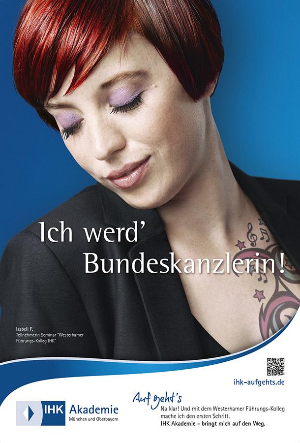 IHK Byern Werbekampagne Portraits