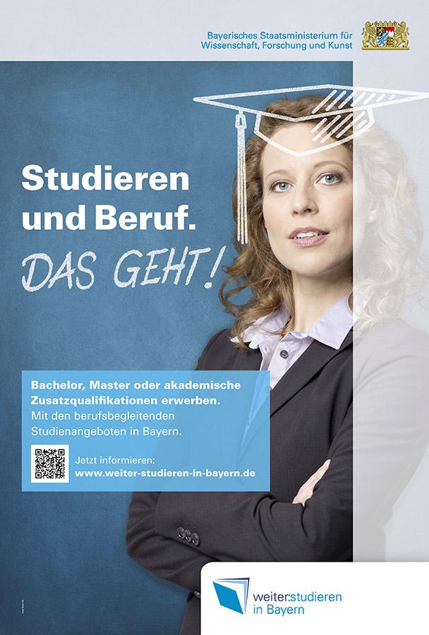 Kampagne Weiterstudieren