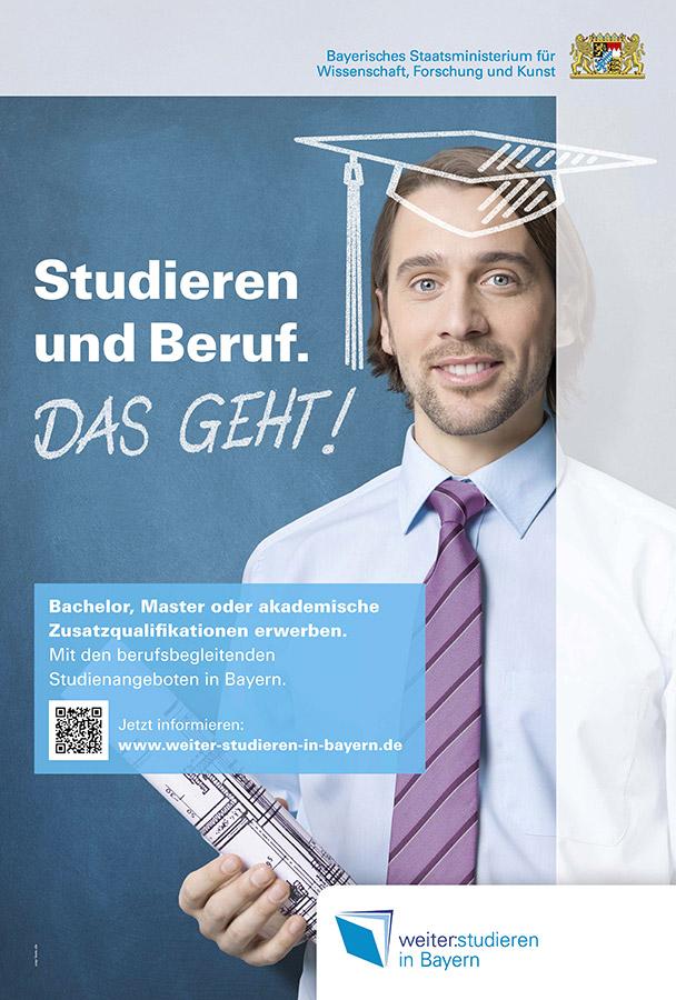 Kampagne WeiterStudieren - Architekt