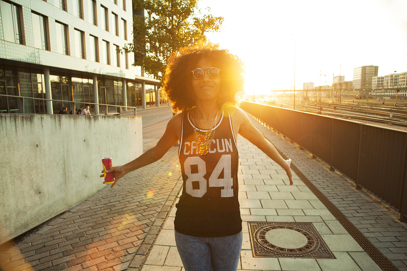 afro-urban-sunset