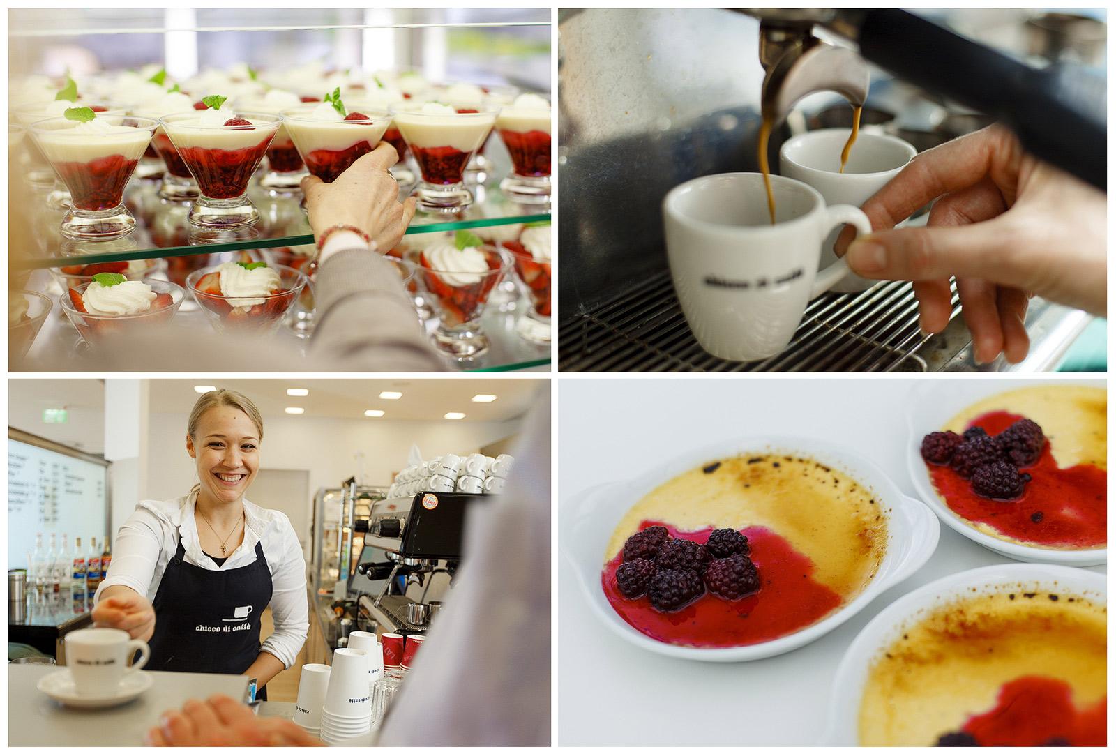 Detailfotos aus Cafe und Catering