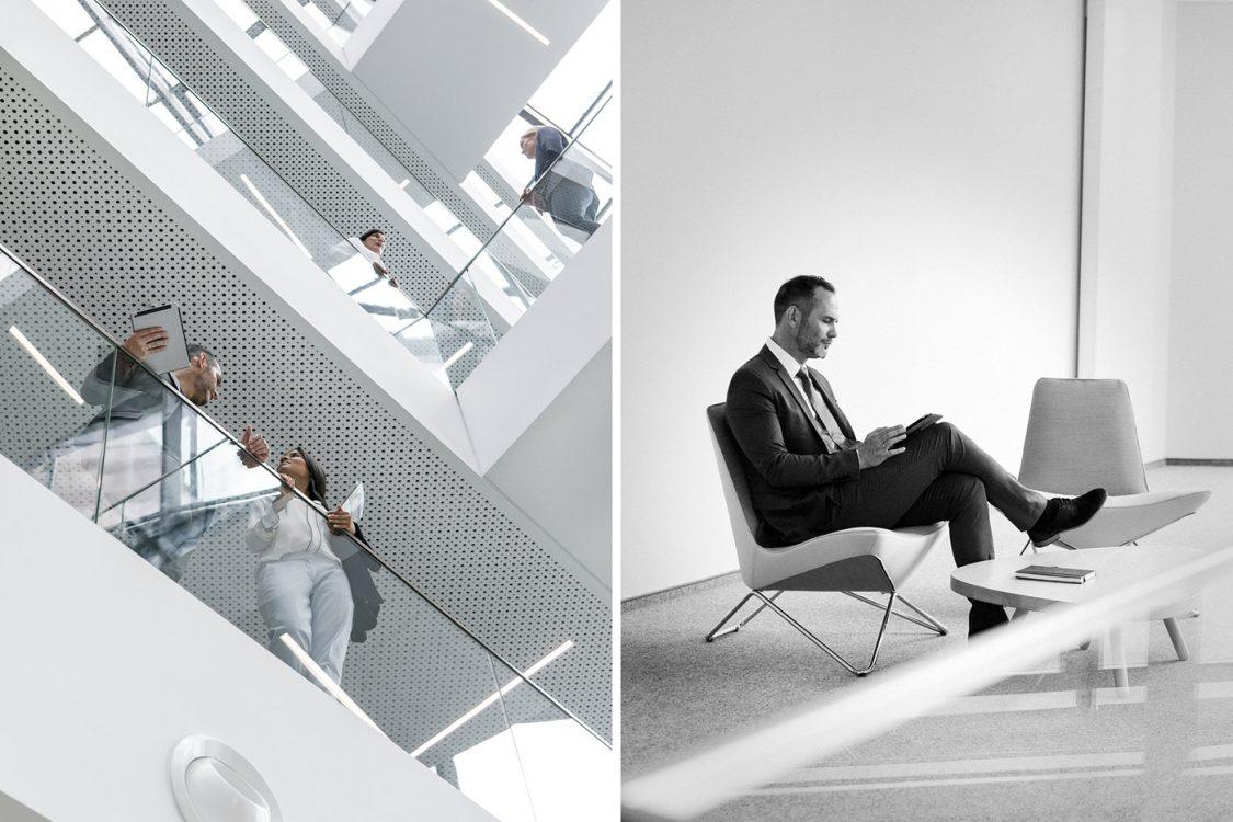 grafische Unternehmensfotografie