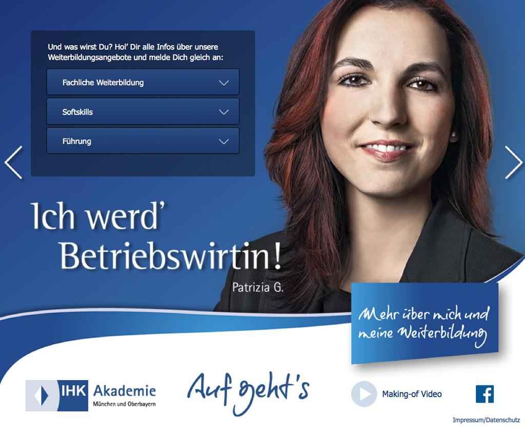 IHK Kampagne Betriebswirtin