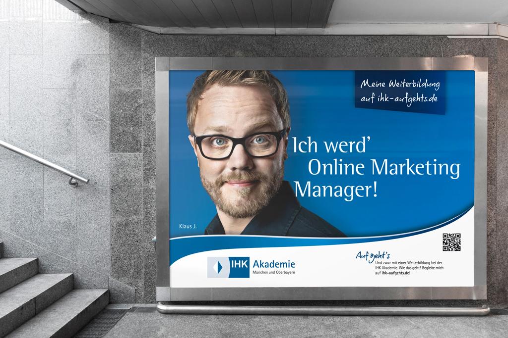 Grossflaechenanzeige IHK Akademie Kampagne