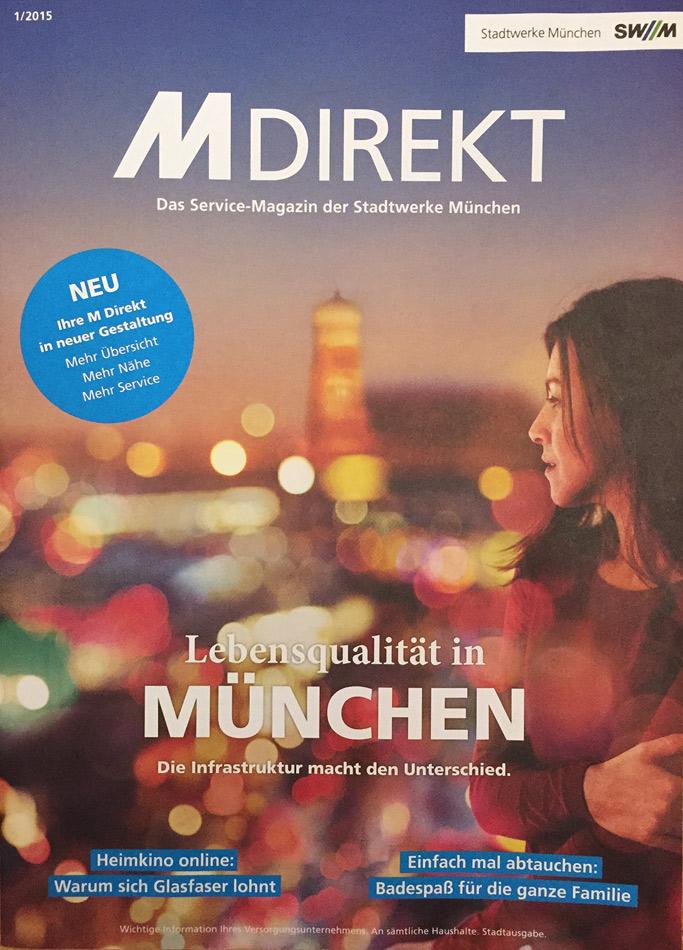Titelbild M-Direkt 2015/1