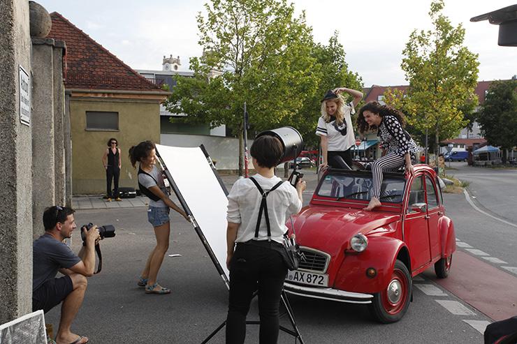making of Bild Lifestyle Fotoshooting mit Christian Kasper in München