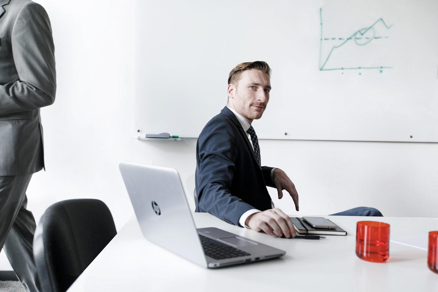 Portrait eines Unternehmers