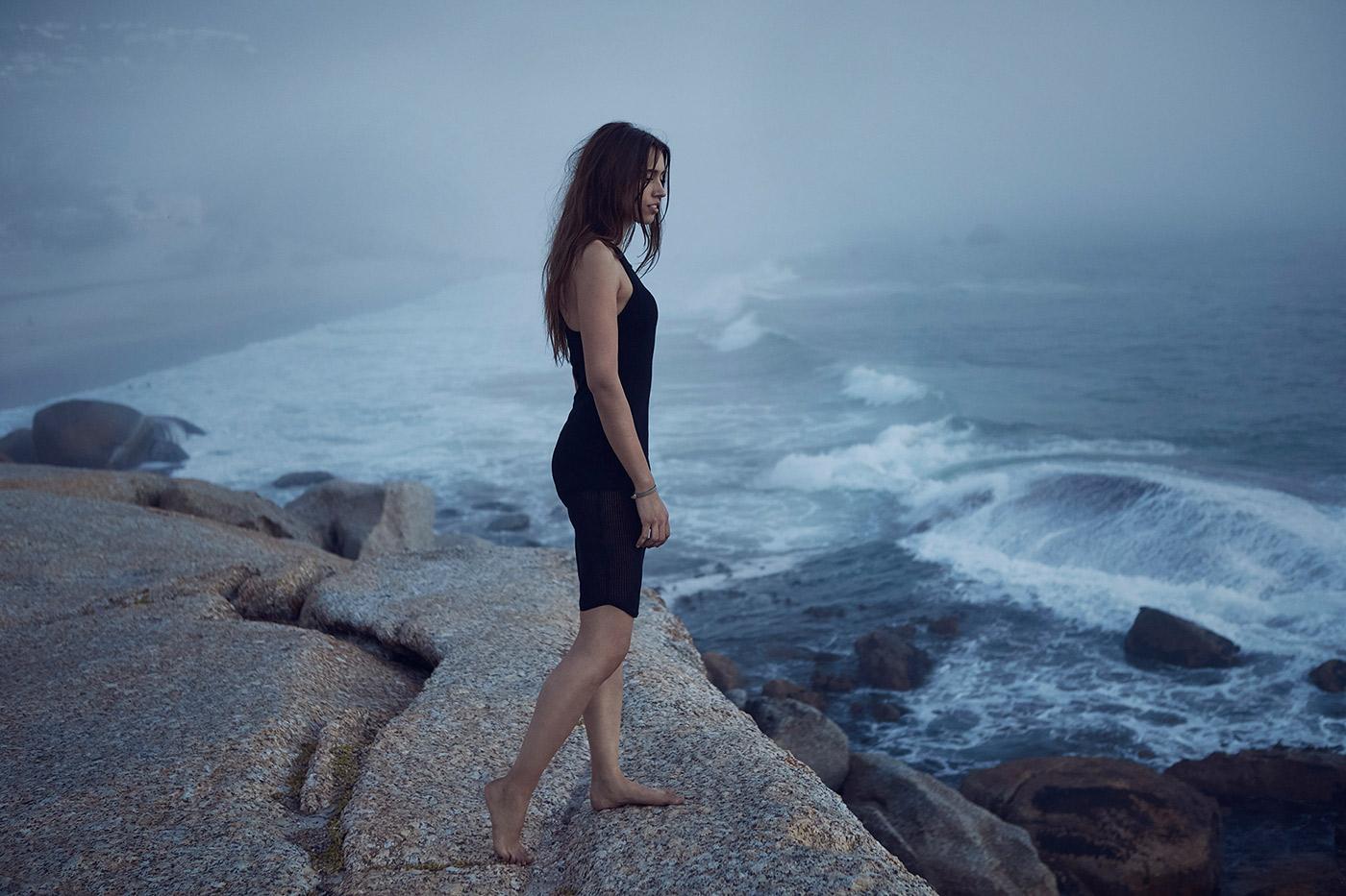 Werbefotografie Beauty und Schmuck am Meer 2
