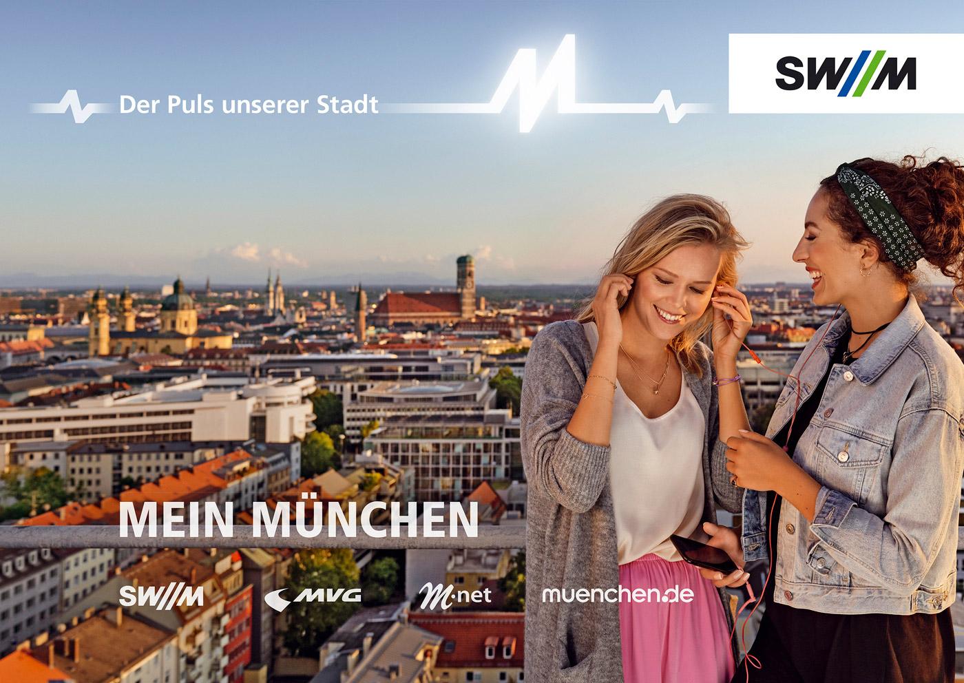 Werbefotografie München Stadtwerke