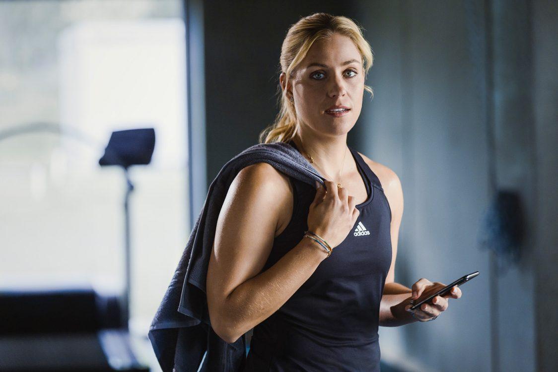 Werbefotografie und Sportfotografie mit Angelique Kerber