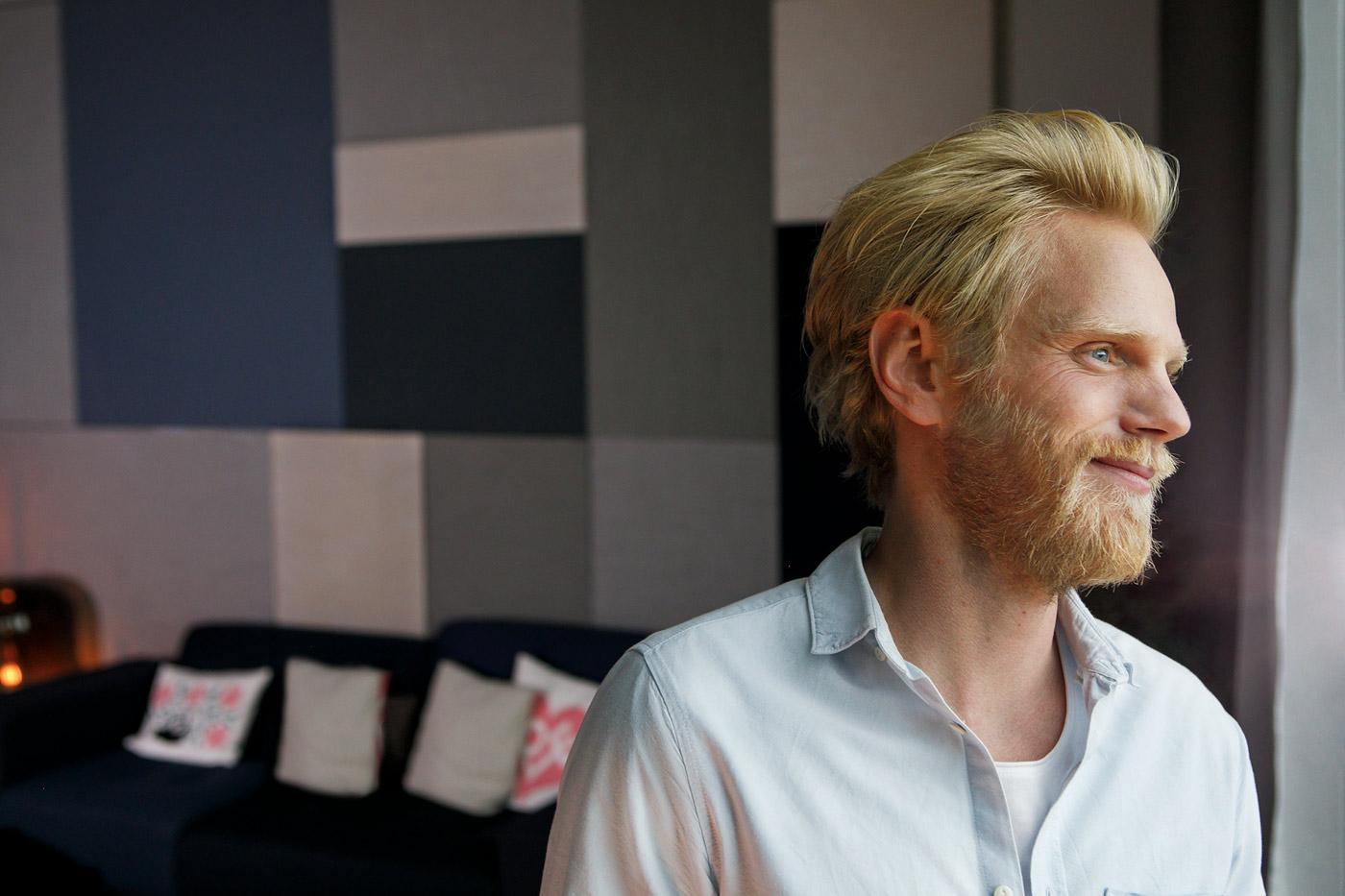 Portrait moderne startup und corporate